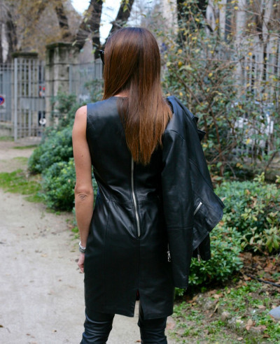 Natural-Premium-Nappa-100%-Hand-Made-Leather-Dress
