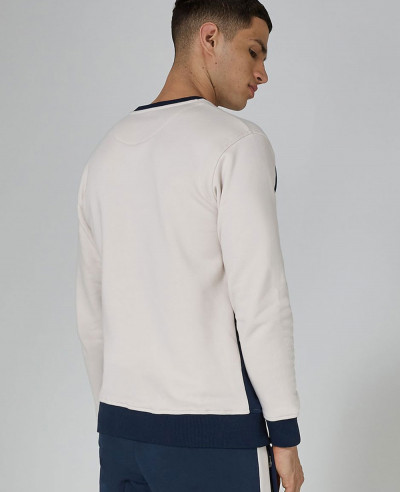 Navy And Cream Premium Sweatshirt
