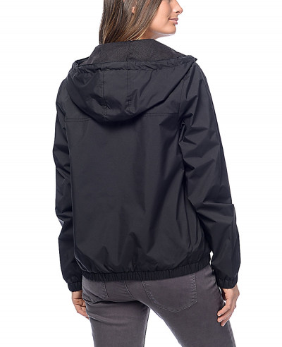 New-Black-Lined-Windbreaker-Coach-Jacket