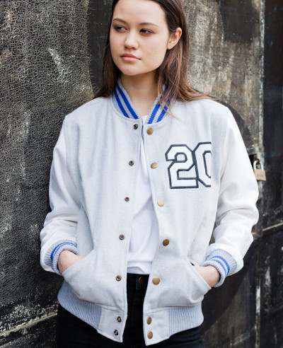 New Classic Wool & Wool Sleeve Varsity Baseball Varsity Jacket