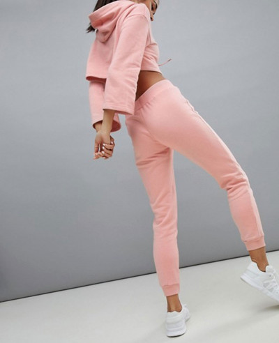 New Custom Beach Joggers In Blush Sweatsuit