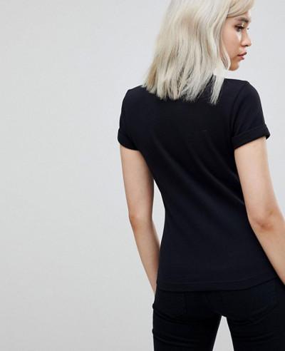 New-Fashion-Colour-Block-Pique-Polo-Shirt