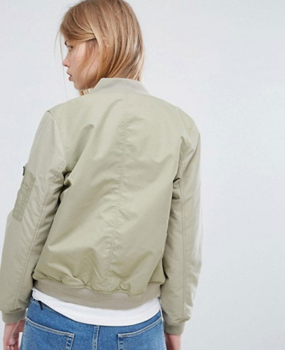 New-Fashion-Green-Bomber-Varsity-Jacket