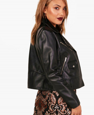 New Fashion Leather Biker Jacket