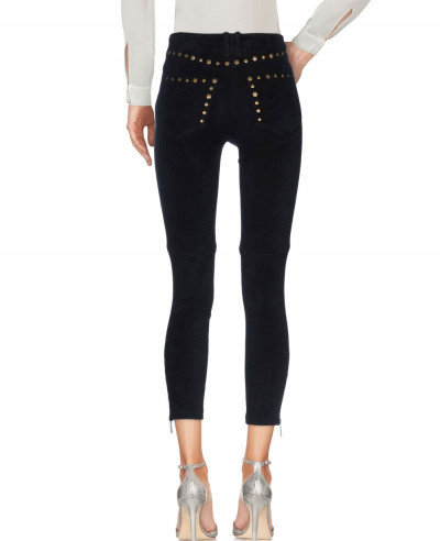 New-Fashion-Suede-Leather-Pant