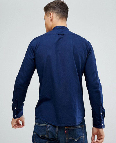 New Fashionable Denim Shirt In Blue