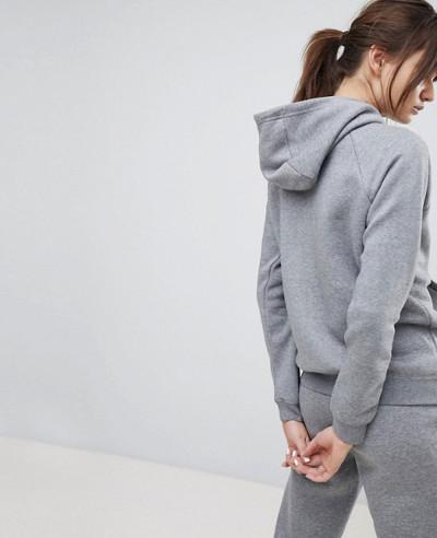 New-Fashionable-Full-Zipper-Hoodie-In-Grey