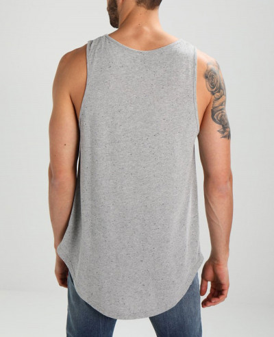 New-Look-Men-Grey-Tank-Top