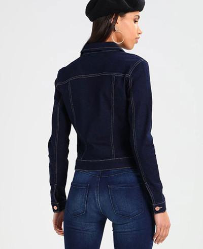 New-Navy-Blue-Custom-Denim-Jacket