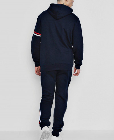 New Over The Head Tracksuit With Zipper Placket