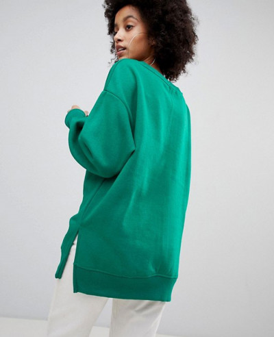 New-Oversized-Sweater-In-Green