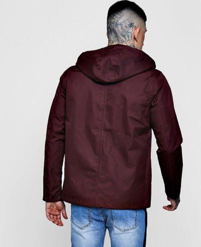 New stylish Contrast Lightweight Parka Windbreaker Jacket