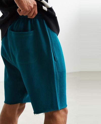 New-Stylish-Custom-Hem-Knit-Short