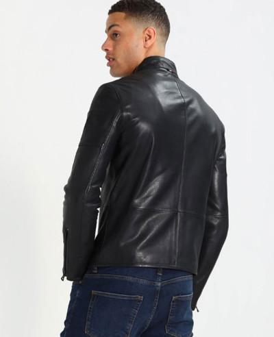 New-Stylish-Custom-Men-Biker-Leather-Jacket