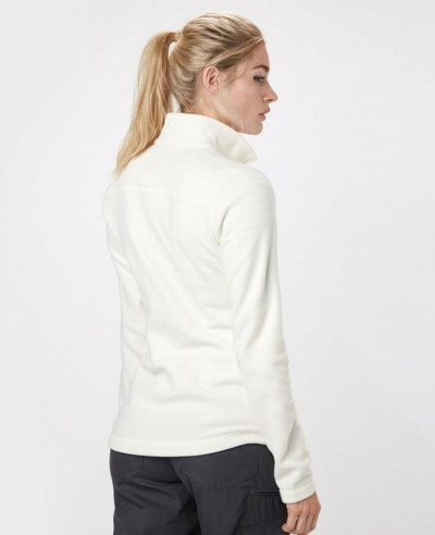 New-Stylish-White-Half-Zipper-Polar-Fleece-Jacket