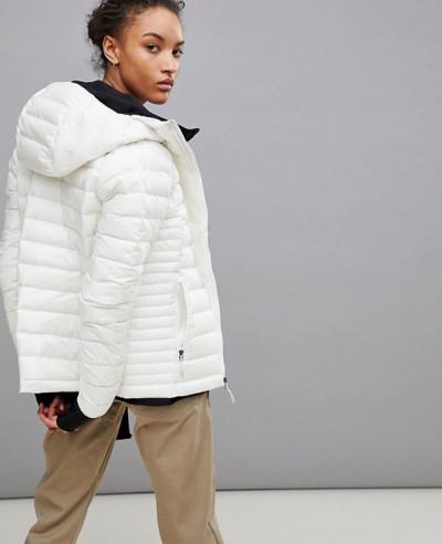 New-Stylish-Women-Custom-White-Quilted-Padded-Jacket