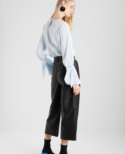 New-Stylish-Women-Moto-Leather-Trousers
