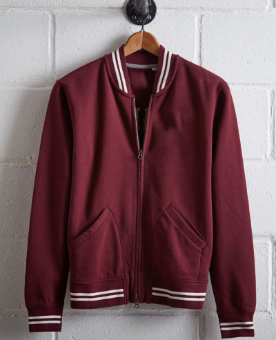 New Trendy Oversized Bomber Varsity Jacket