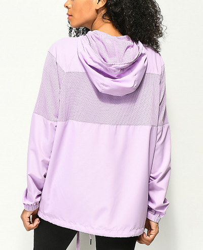New-Women-Design-Mesh-Windbreaker-Jacket