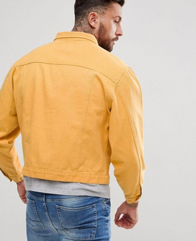 Oversized-Denim-Jacket-Mustard