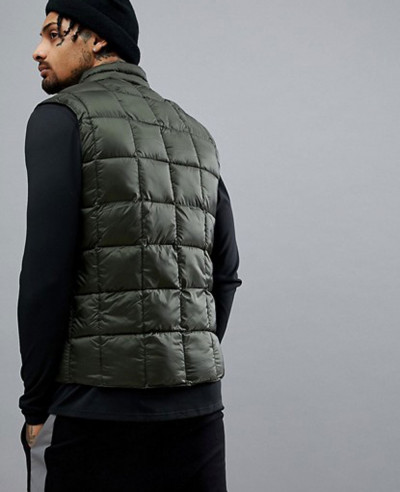 Packable Gilet With Quilting