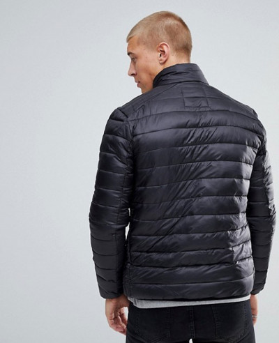 Padded Jacket In Black
