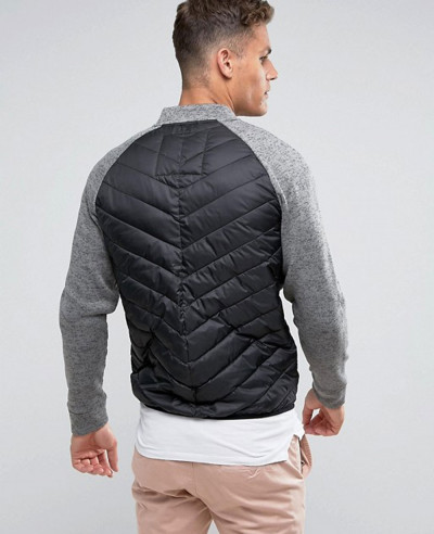Padded Jacket With Raglan Sleeves