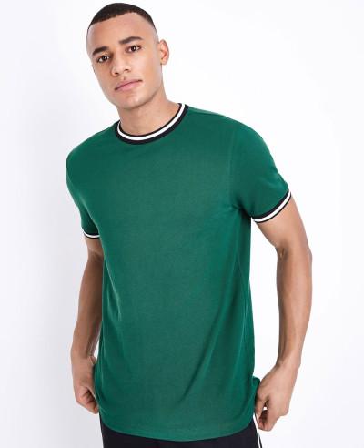 Pk Green Tipped Fashion Sport Stylish Custom T Shirt
