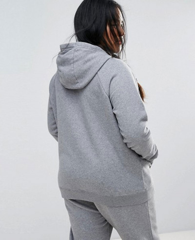 Plus-Rally-Pullover-Hoodie-In-Grey