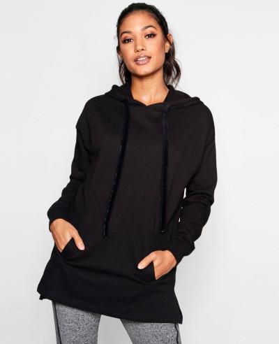 Pullover-Custom-Velvet-Drawstring-Hoodie