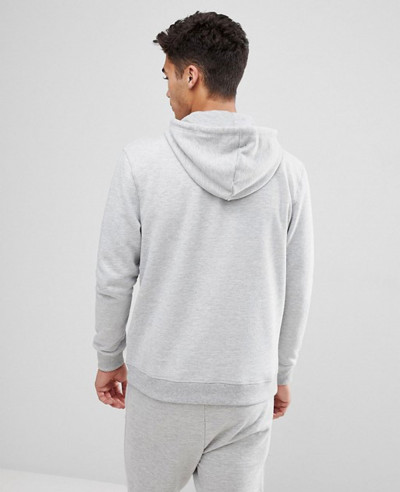 Pullover Most Selling Men Hoodie In Grey