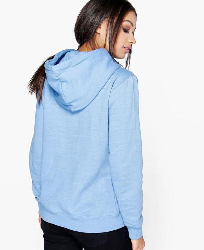 Pullover-Overhead-Blue-Fleece-Hoody