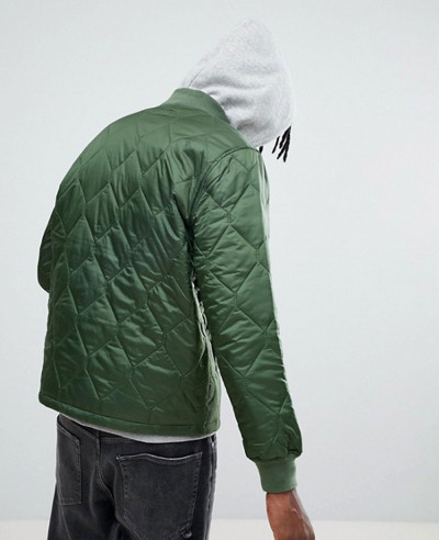 Quilted Jacket In Relaxed Fit