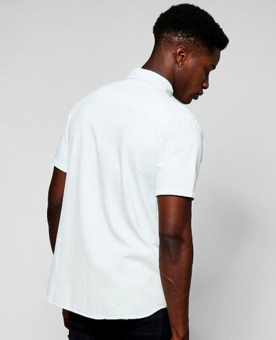 Short Sleeve Denim Western Shirt