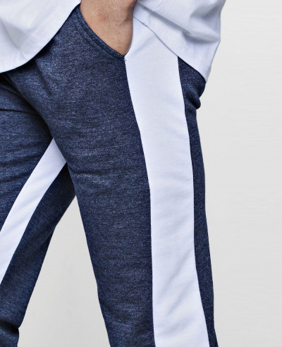 Signature Skinny Fit Stripe Panelled Joggers