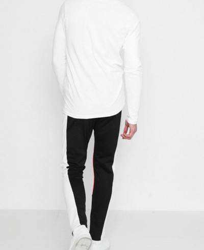 Skinny Fit Moto Panel Joggers