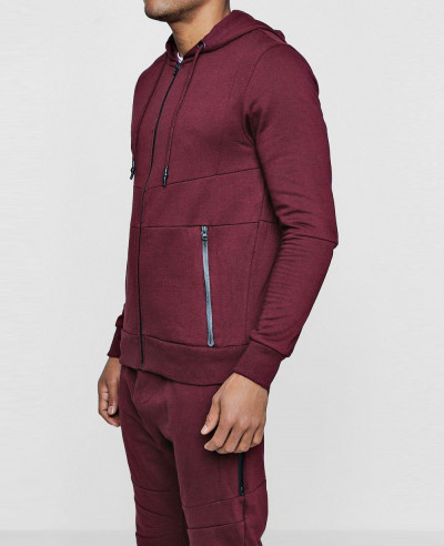Skinny Fit Tracksuit With Panel