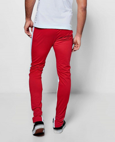 Skinny Fit Tricot Jogger With Panel