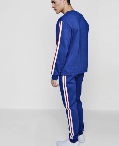 Skinny Stripe Sweater Tracksuit