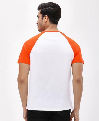 Slim Fit Raglan Modron T Shirt