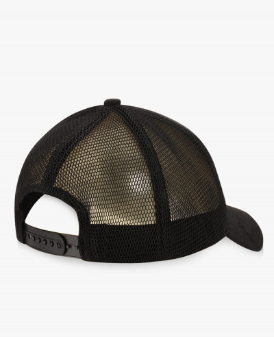 Suedette-And-Mesh-Cap