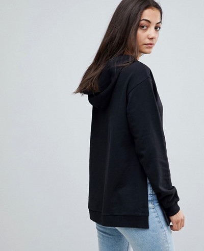 Tall-Hoodie-With-Side-Split-Detail