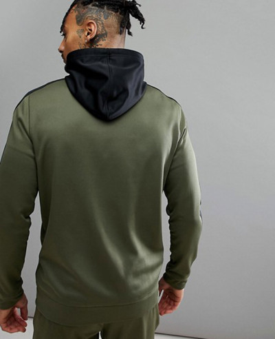 Training Elitage Hoodie In Khaki