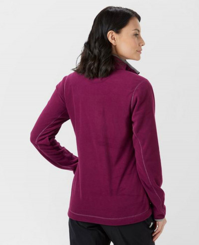 Women-Burgundy-New-Custom-Grasmere-Fleece-Jacket