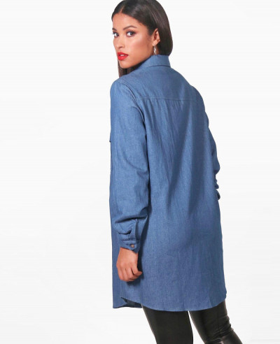 Women-Custom-Stylish-Denim-Shirt