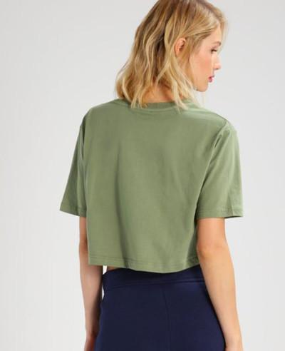 Women-Green-Crop-Top