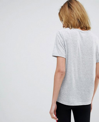 Women-Grey-Fashion-T-Shirt