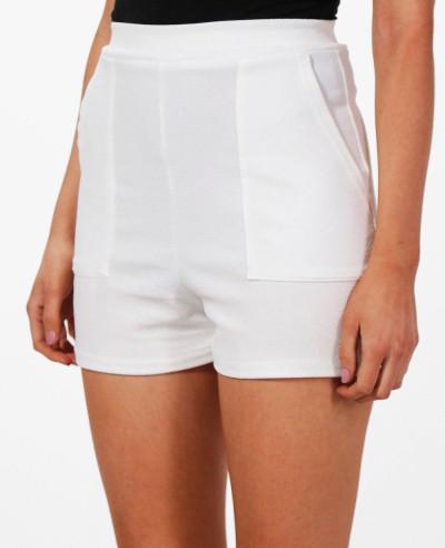 Women-High-Waisted-Pocket-Short