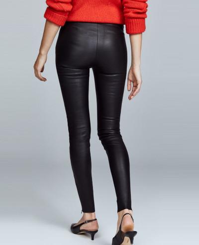 Women-Moto-Biker-Leather-Pants