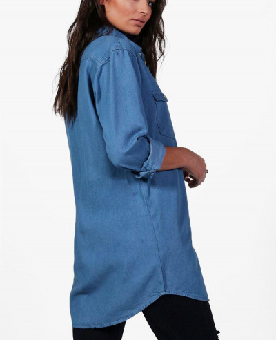 Women-Oversize-Denim-Shirt